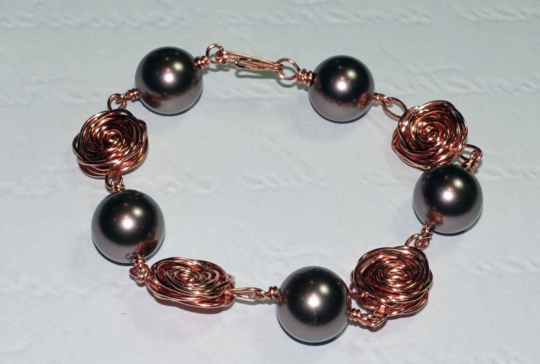 Sophia Wire-work Bracelet