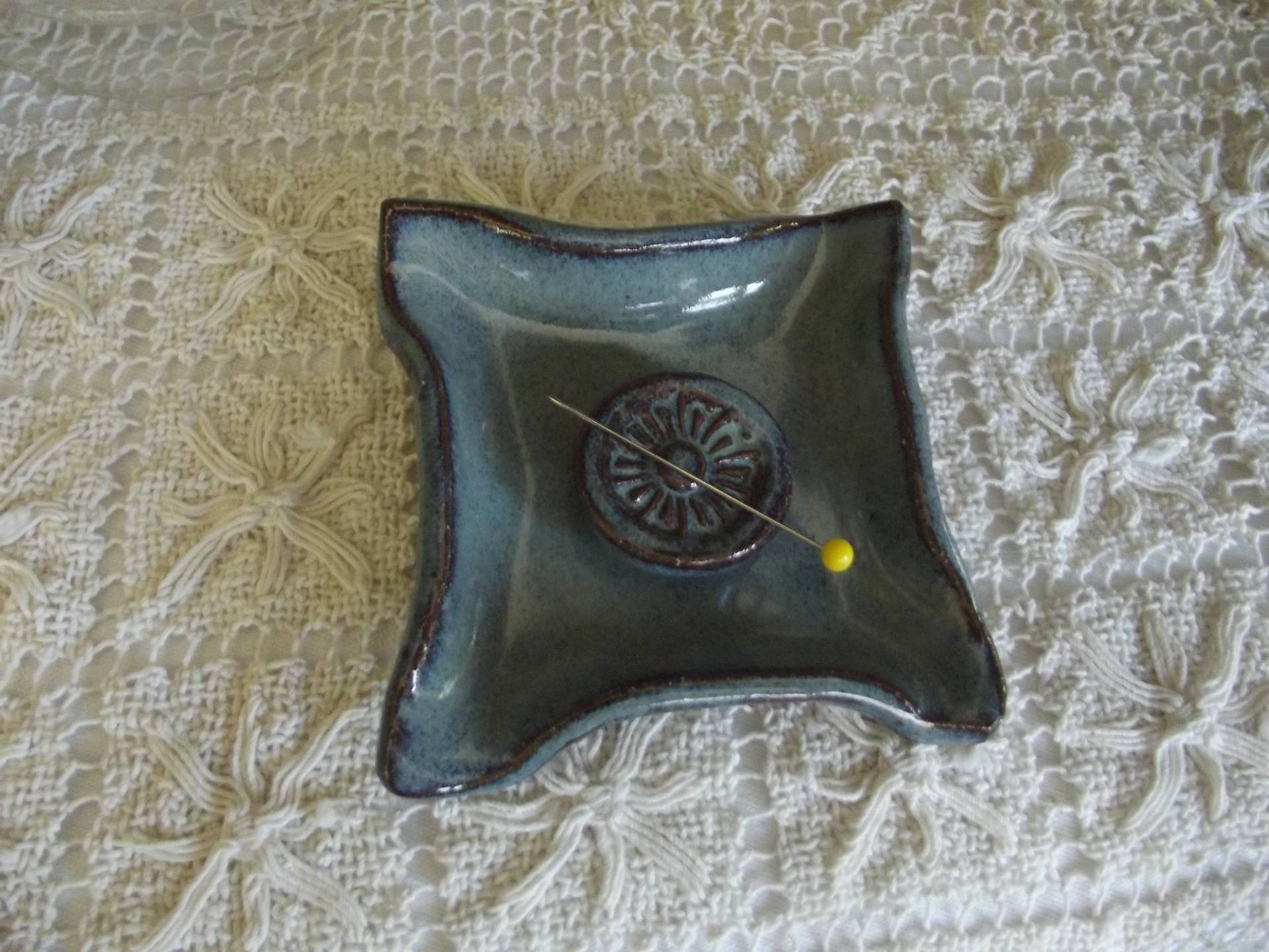 Back Creek Blue Pin Dish