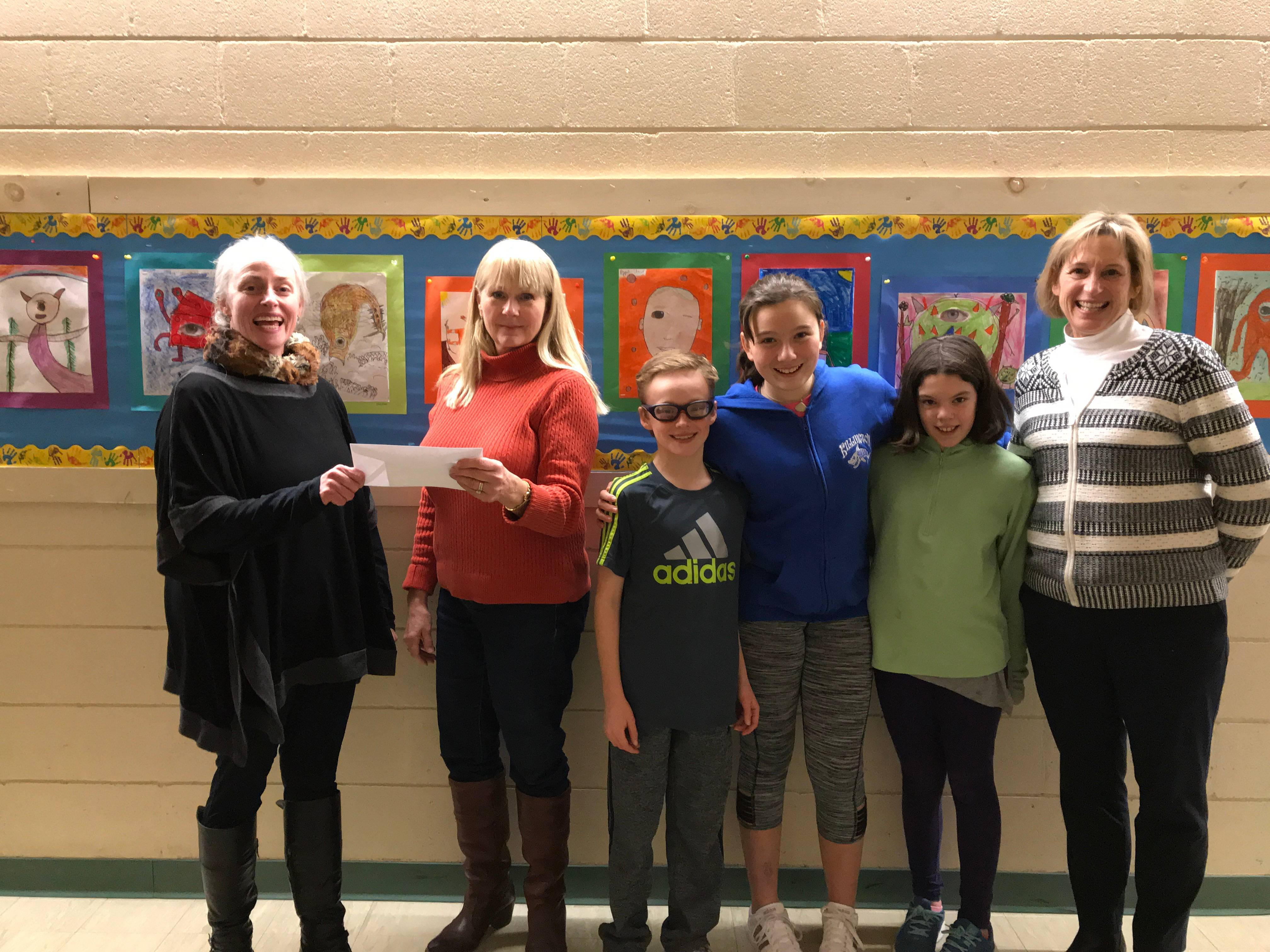 Funds Donated to KES!