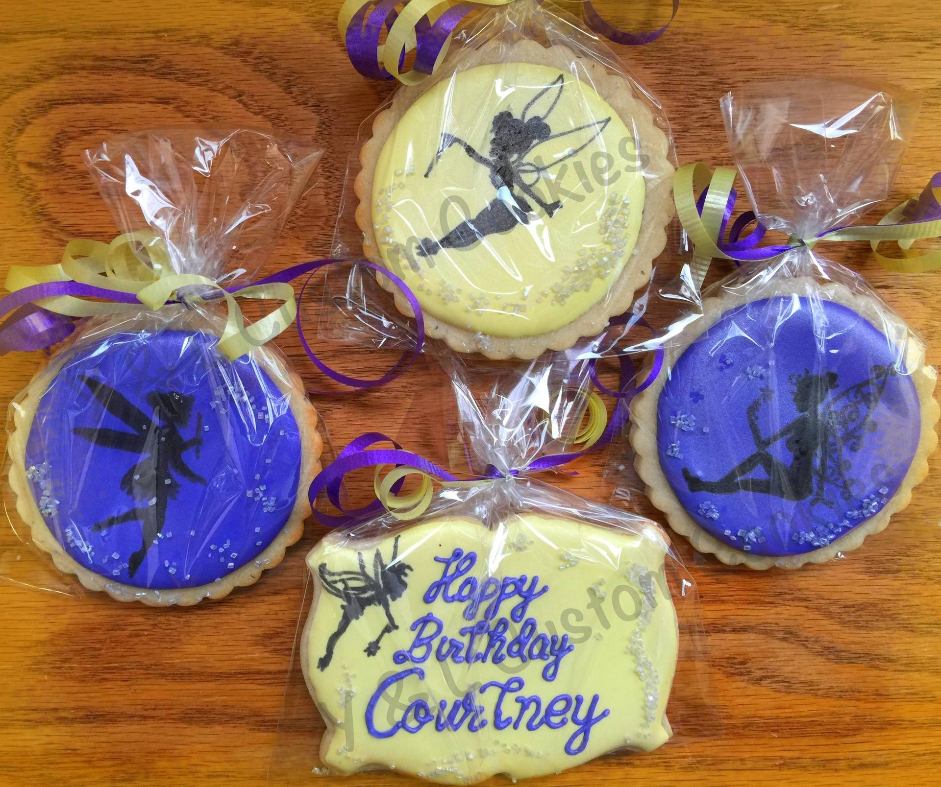 Birthday Cookies Fairy Theme