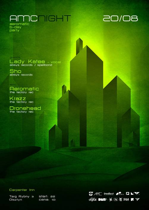 2011.08.20 - AMC Night - Aeromatic B-Day - Carpenter Inn @ Olsztyn