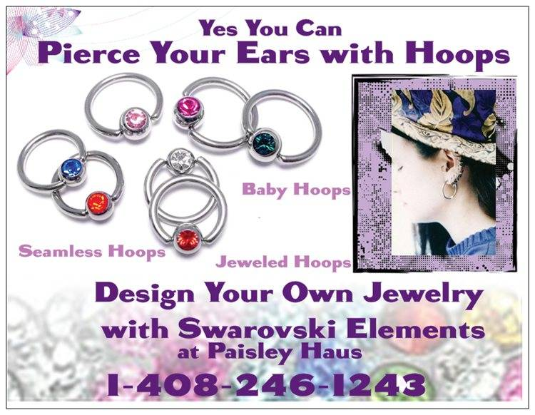 Pierce Your Ears with Hoops