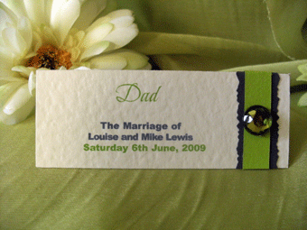Lime Placecard Front 2