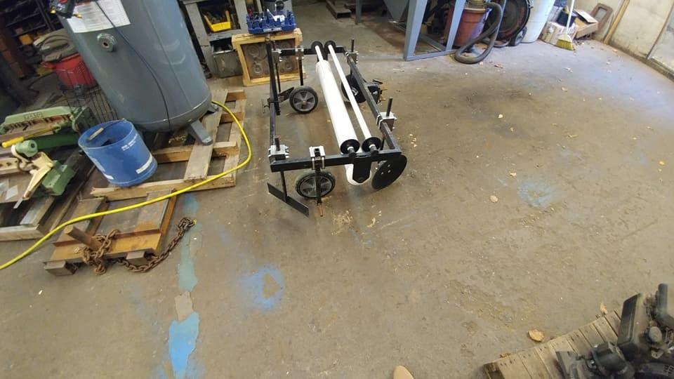 Fabricated Plastic Roller
