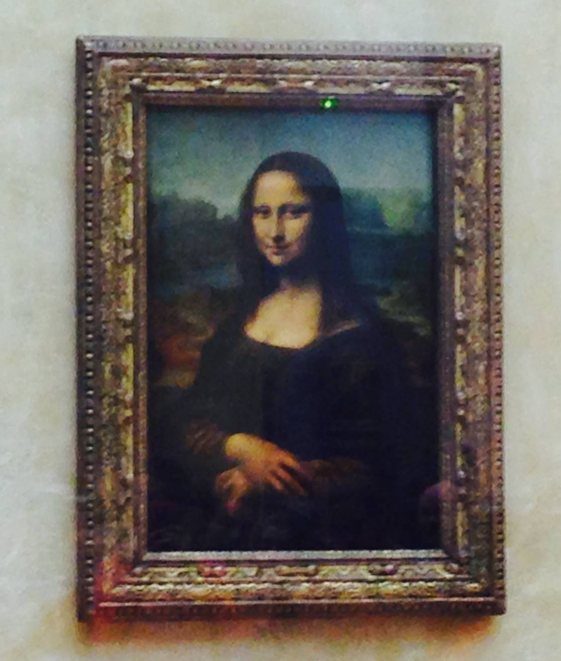 Mona Lisa, The Louvre, Paris