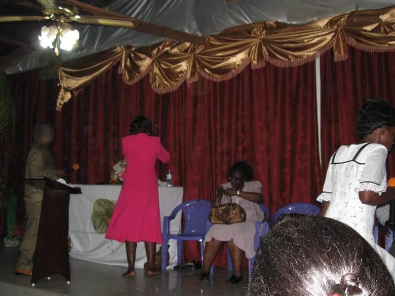 Ministering in Uganda