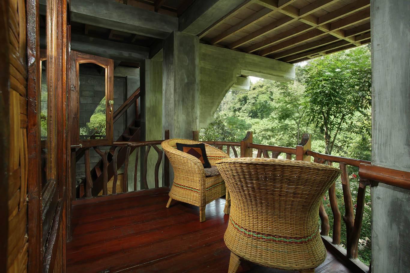 Gecko Room balcony