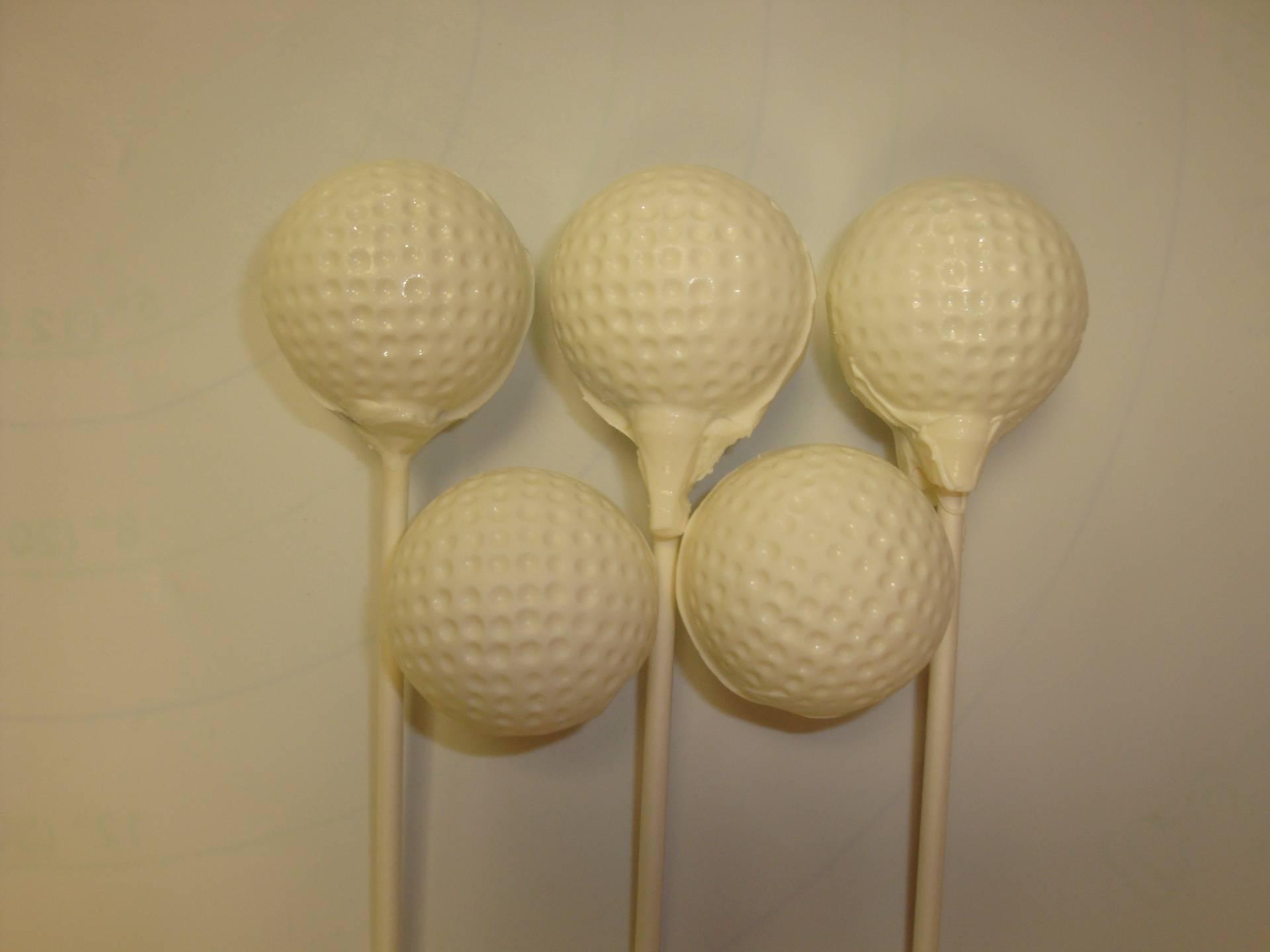 golf ball cake pops $4 each