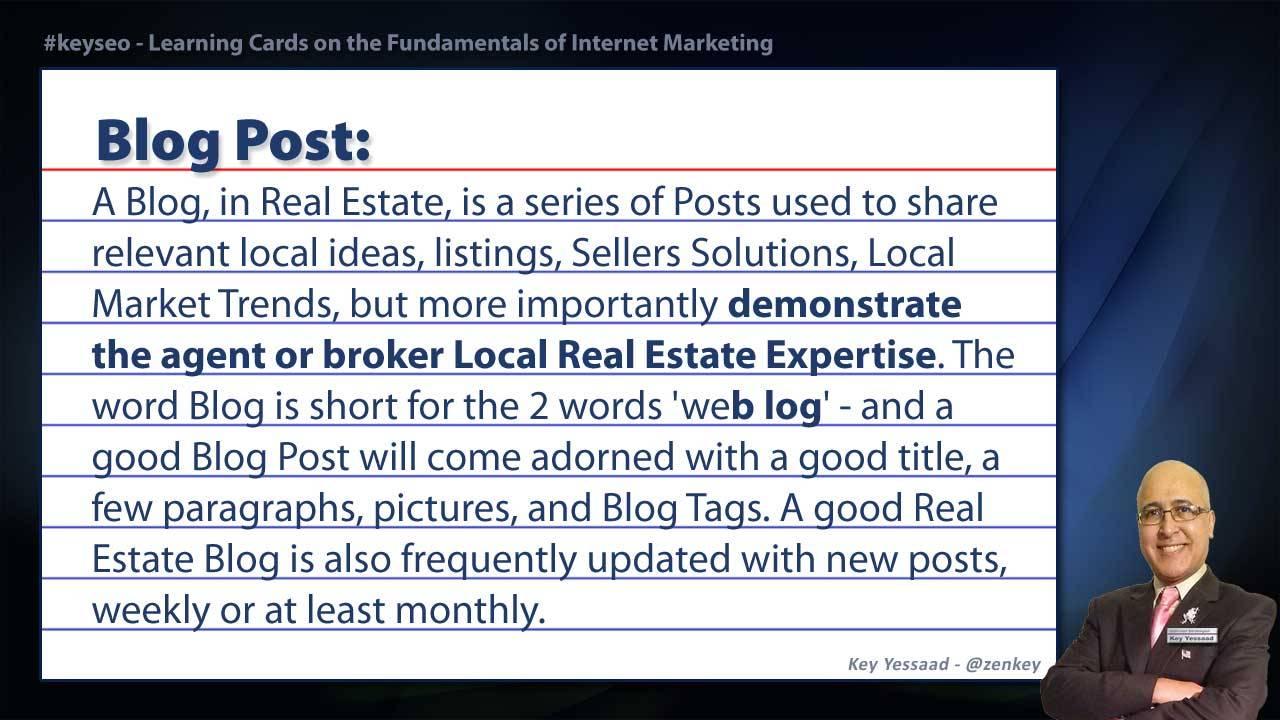 Blog Post - SEO Short Definition for Real Estate