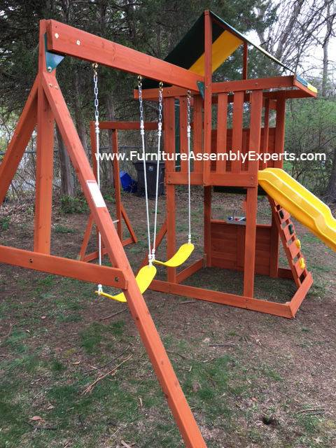 swing set installation service in largo MD
