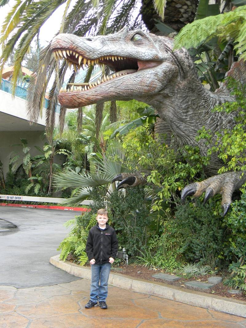 Riley and the Spinosaurus