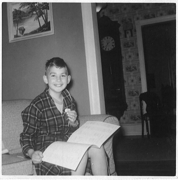 My birthday 1957 (?)