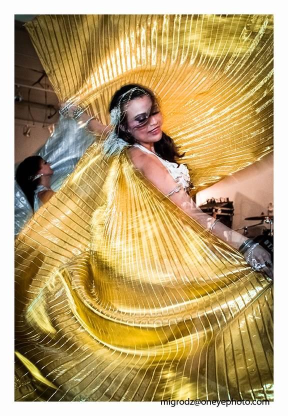 Gold Wings dancer