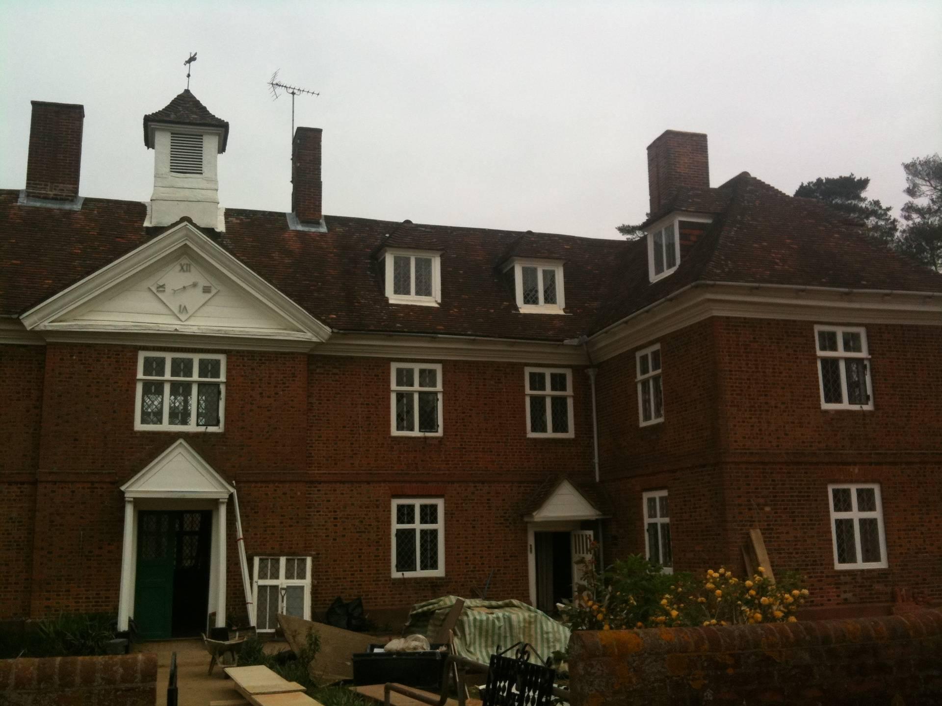 John Cross' Alms Houses refurbishment Ampthill