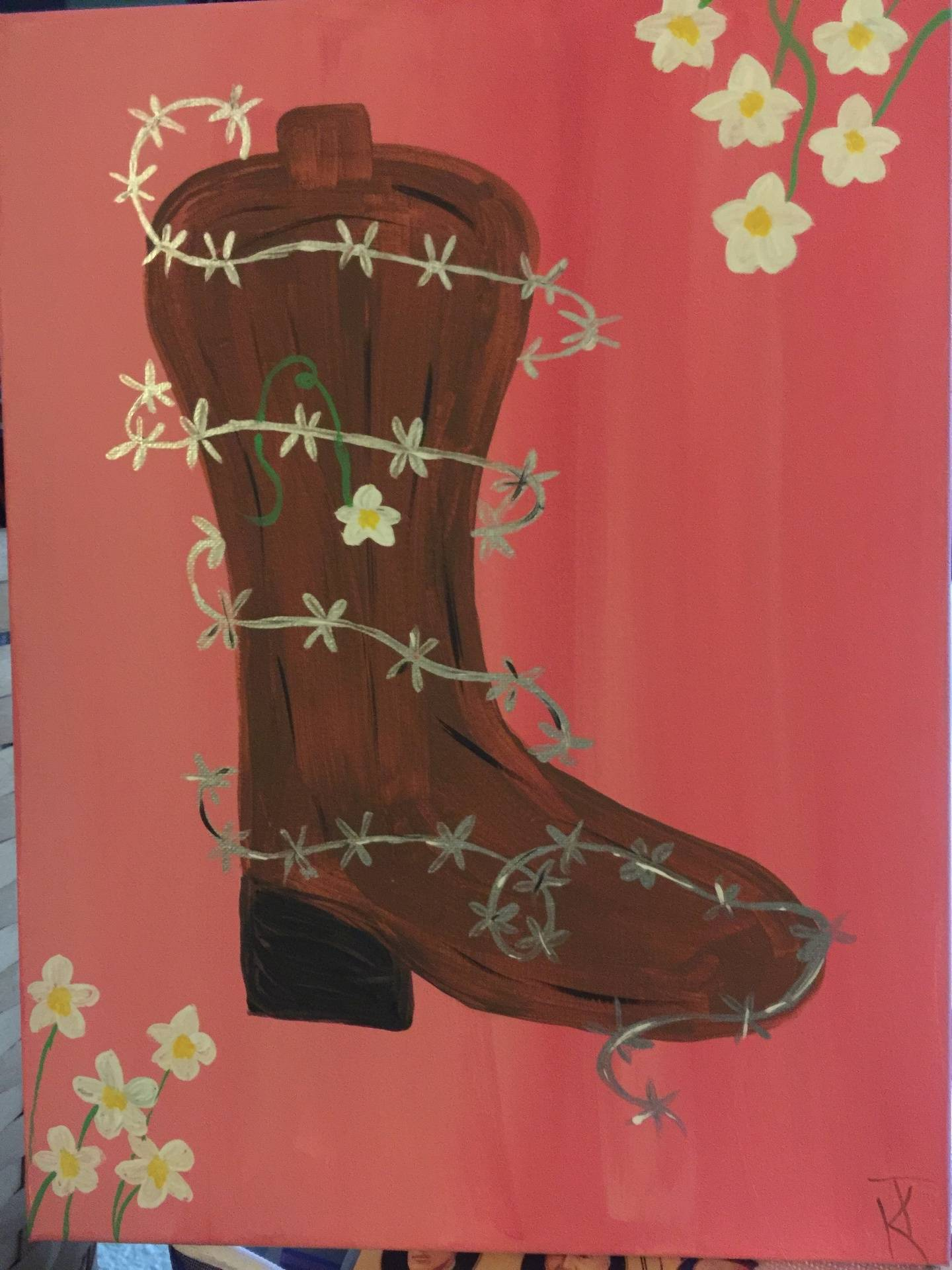 Barbed Wire Boot