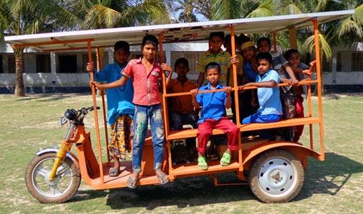 Solar School Van