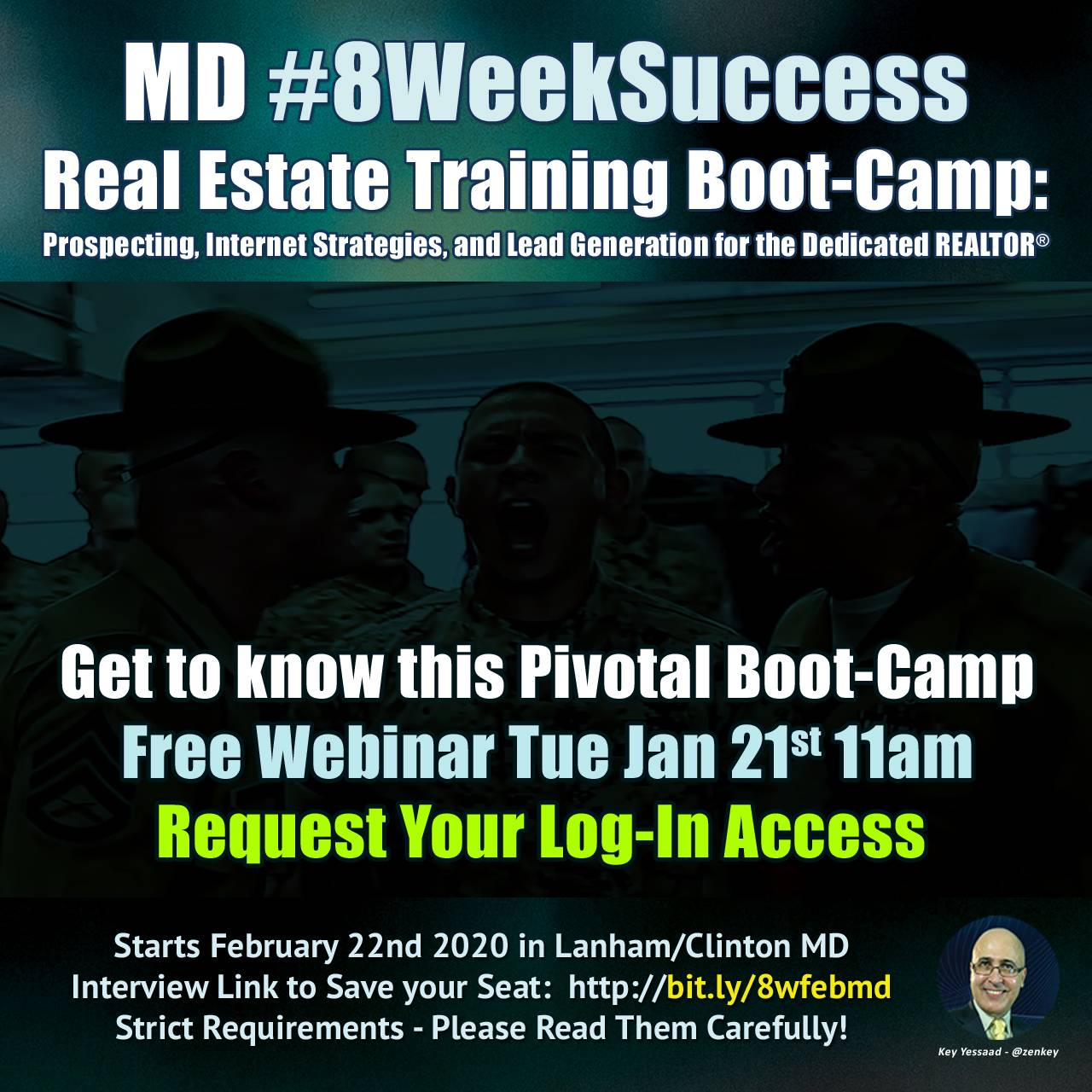 Request your Free Webinar Access Code to Get to Know the #8WeekSuccess Boot-Camp
