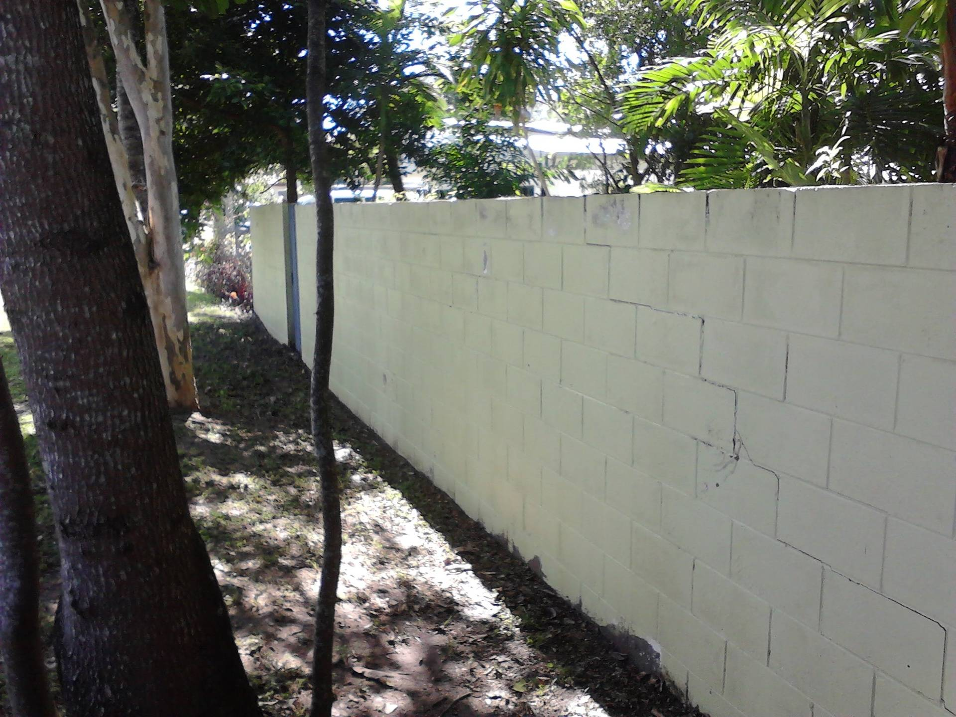 Front Fence After