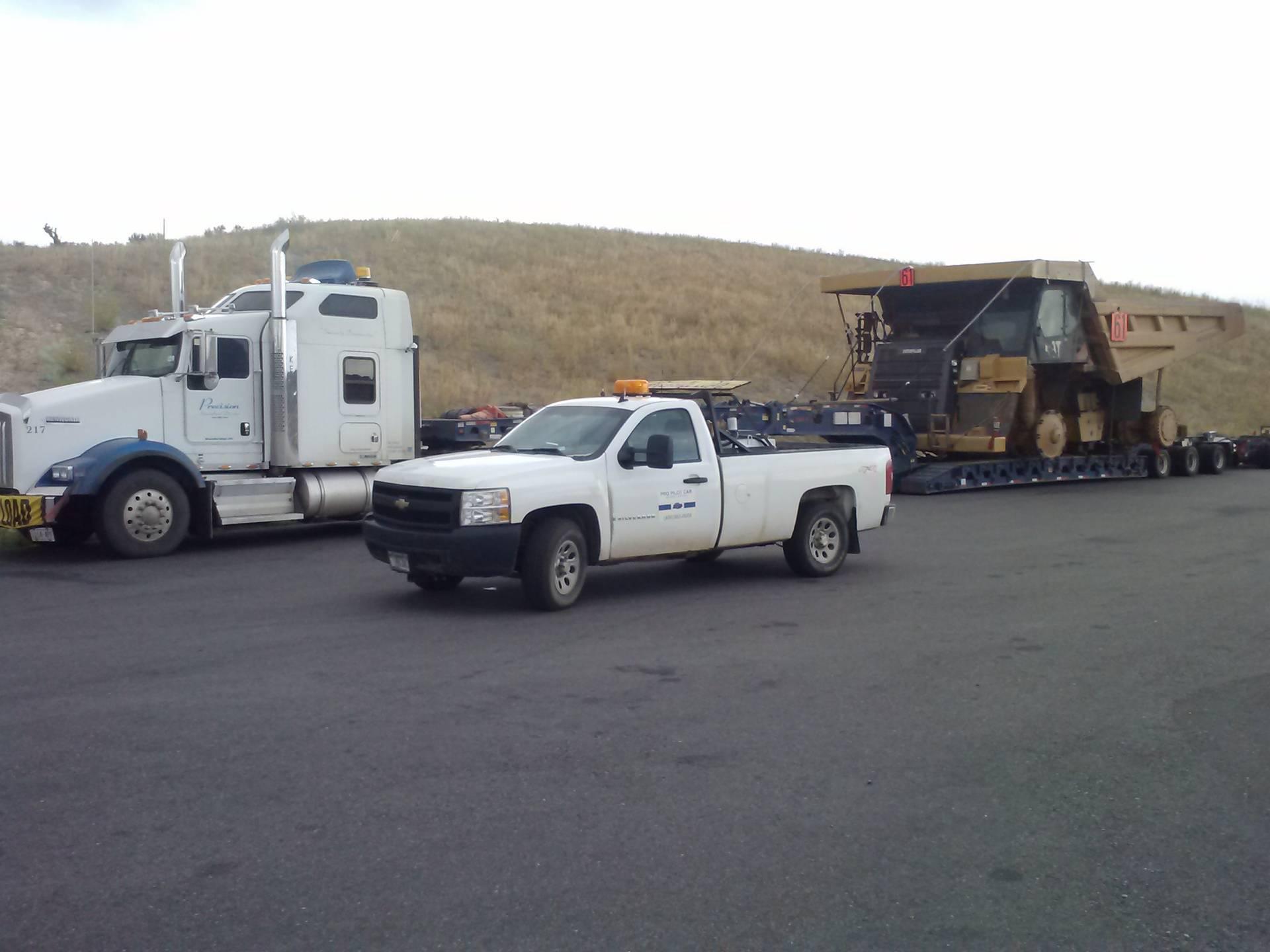 Rock truck to Pocatello