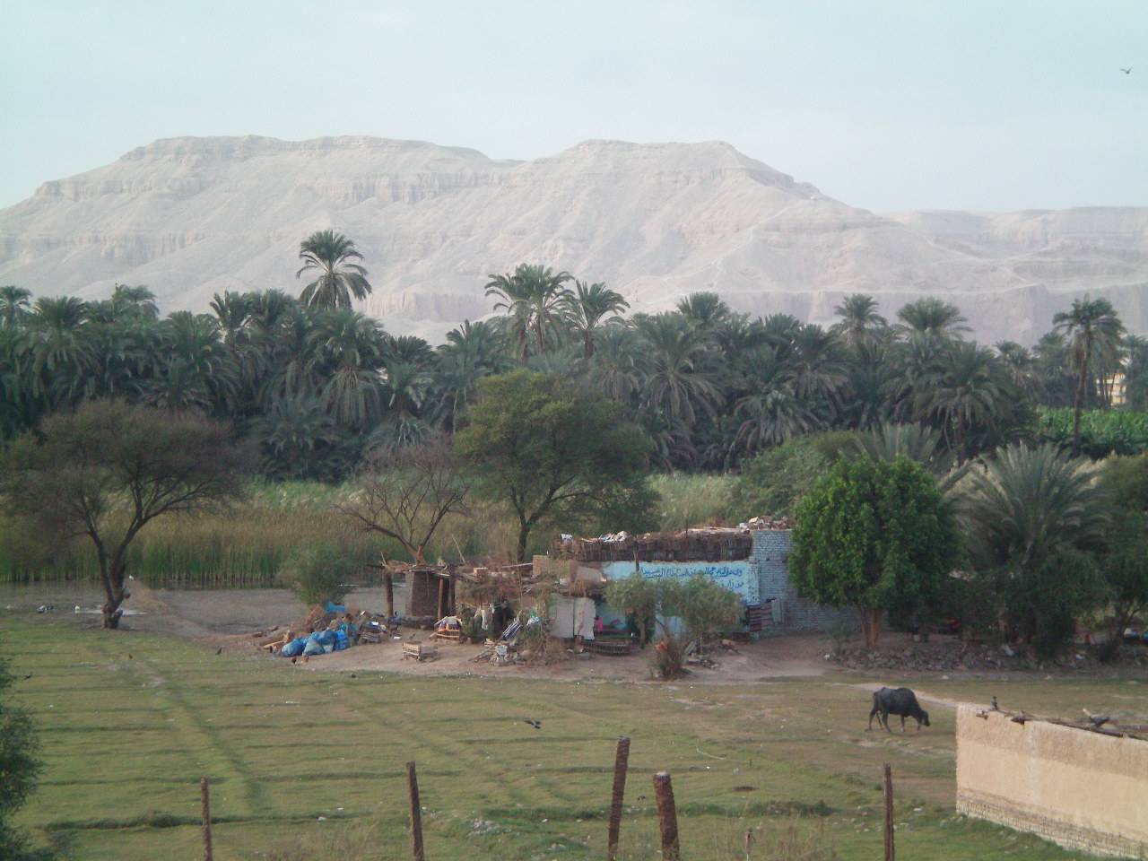 Spectacular views Thebes mountain