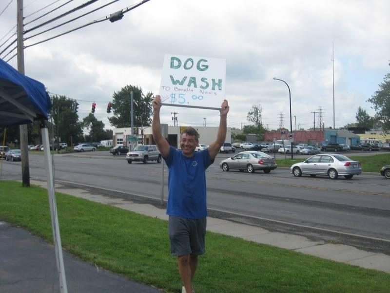 John at the Dog Wash