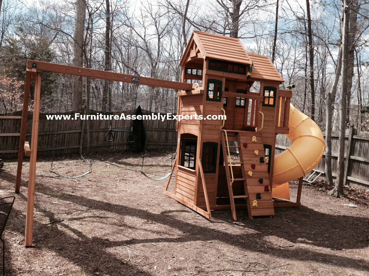 backyard playset assembly service in fort washington MD