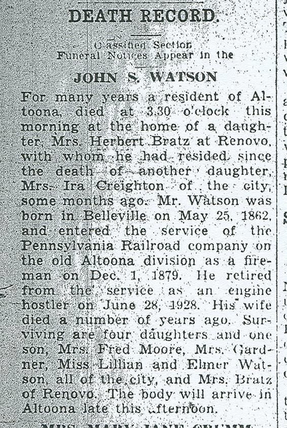 Watson, John S. 1937