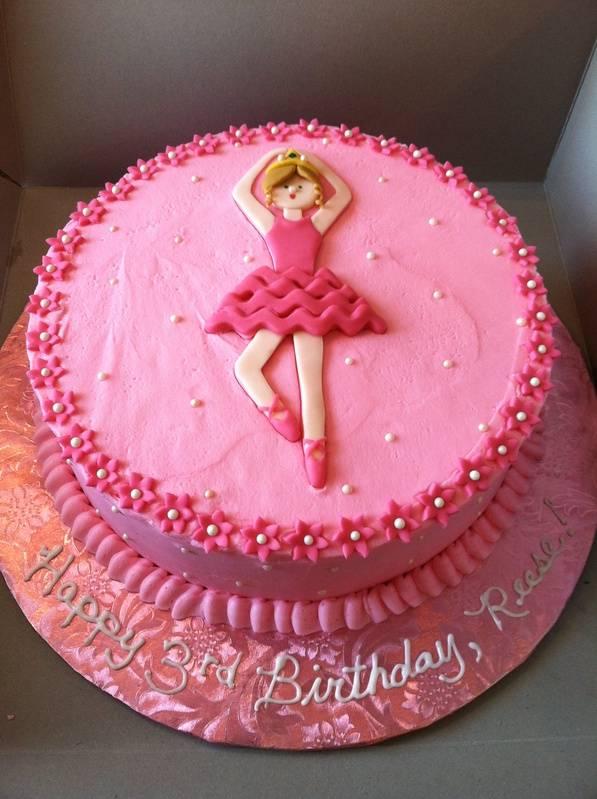 Ballerina Princess cake!