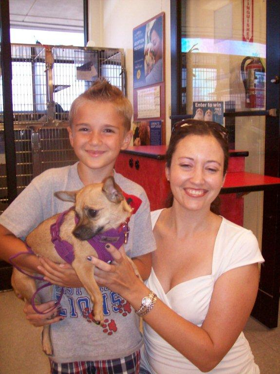 Tiger Lily and her new family
