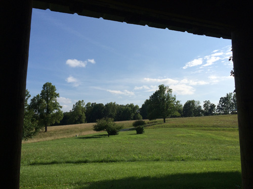 Another view from porch