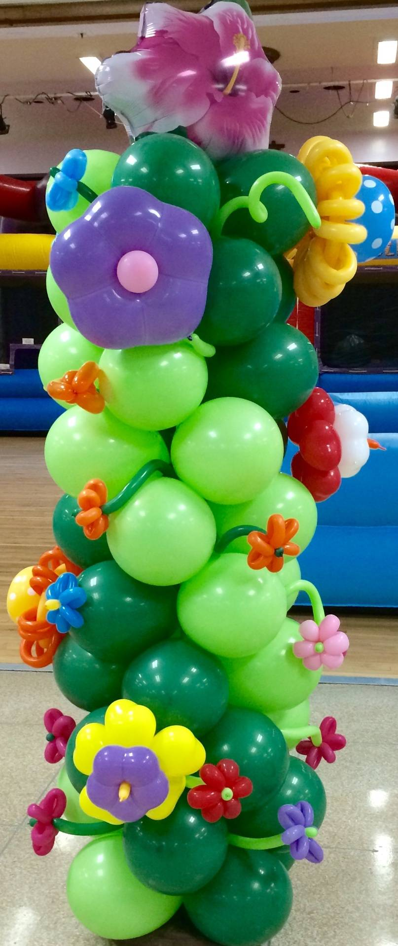 Garden Balloon Column