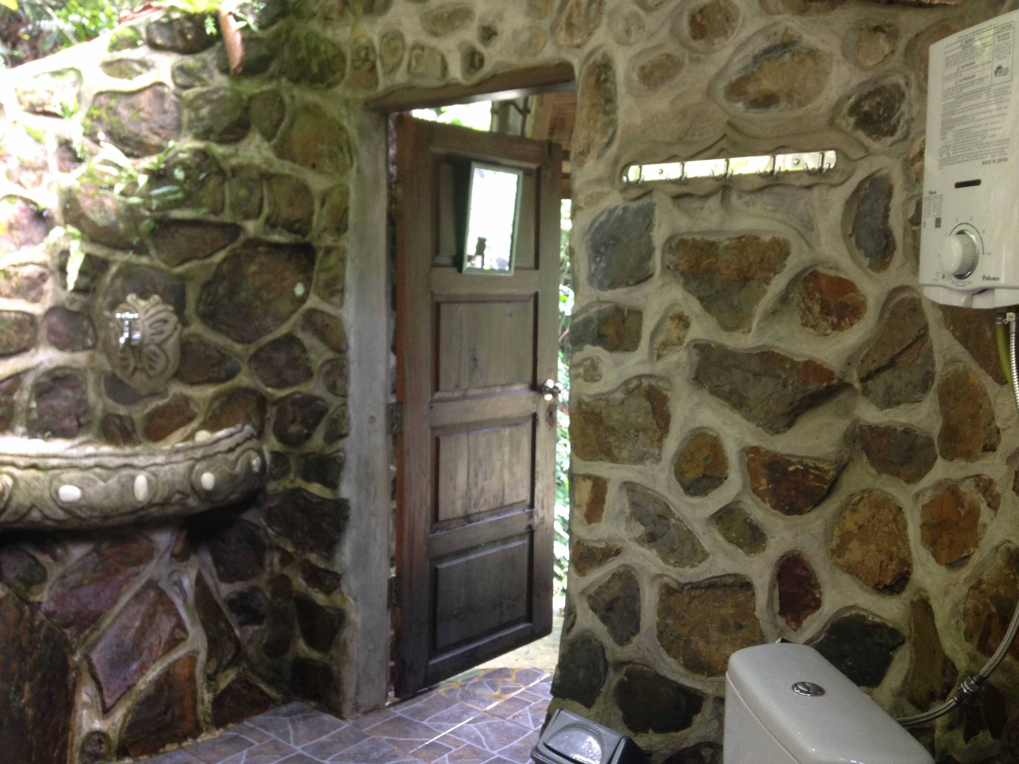 Waterfall Room Jungle Bathroom