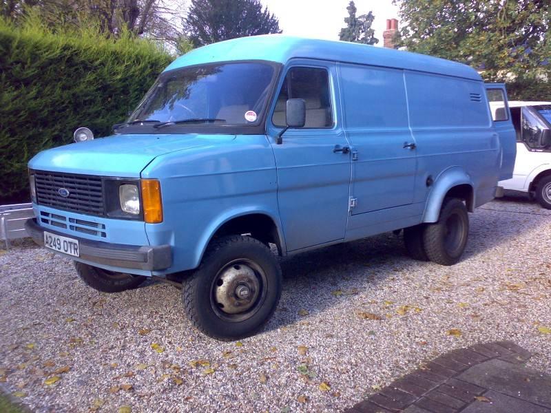 Early 1980s 4 wheel drive panel van