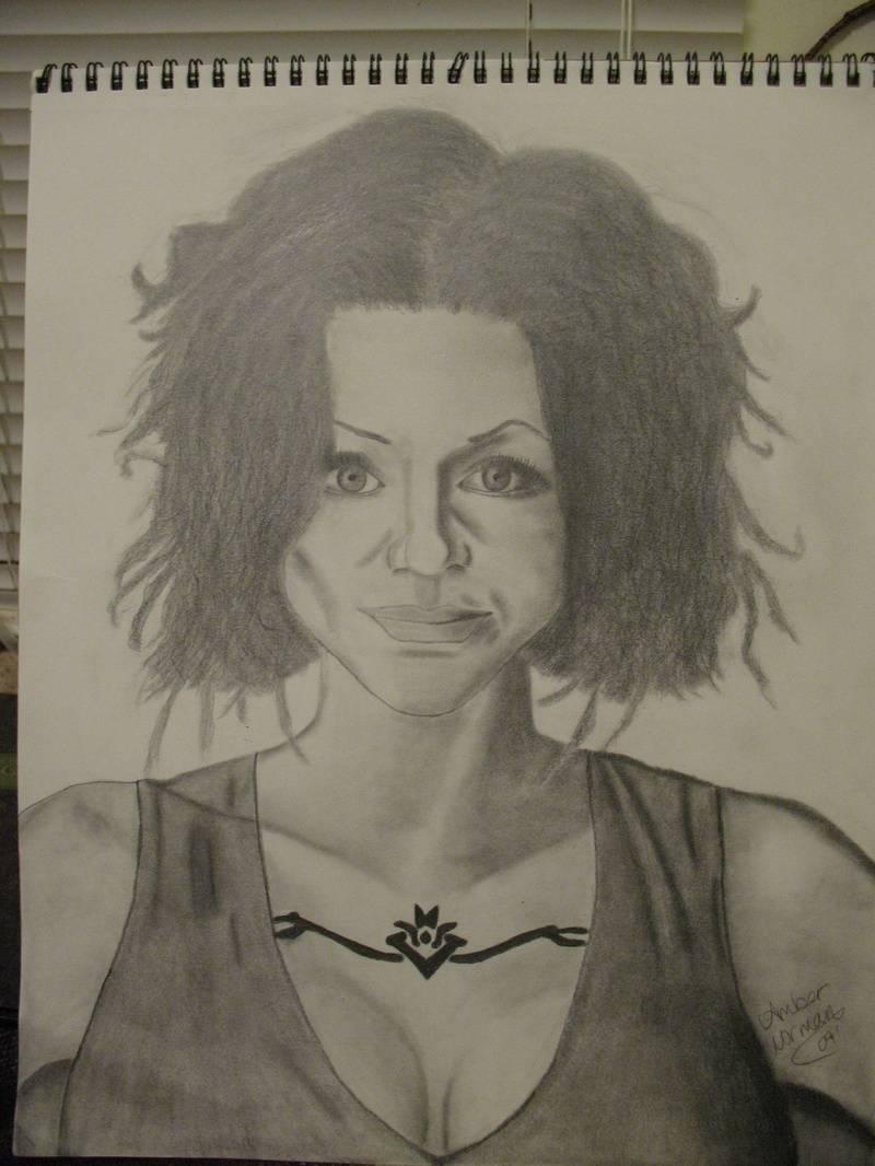 Ani DiFranco Portrait