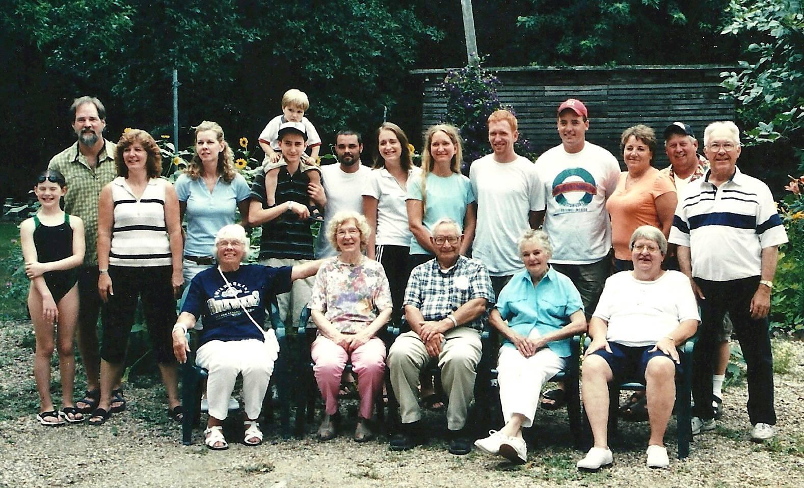 Some of Judge Knott Descendants 2006