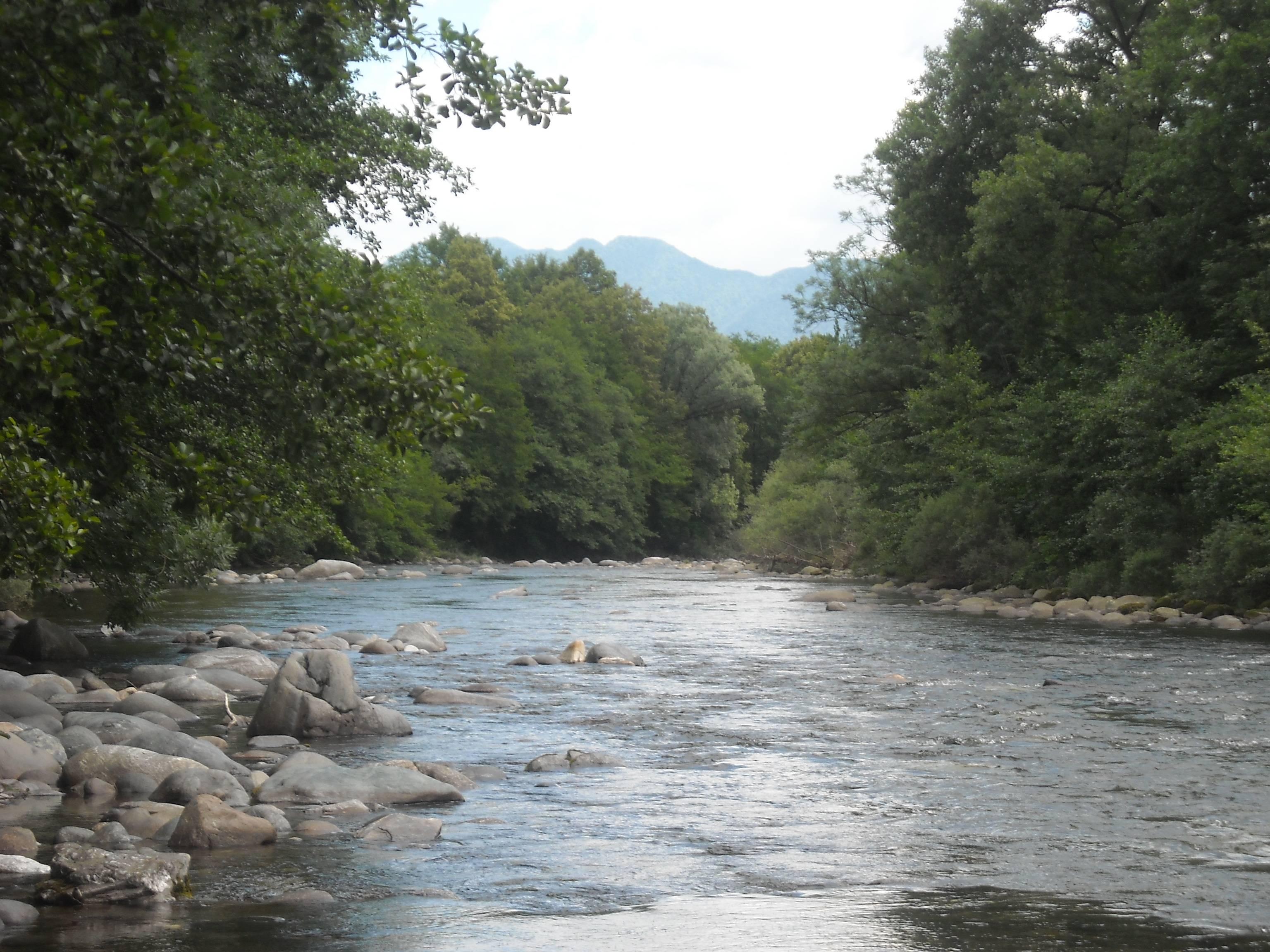 fiume San Bernardino/San Bernardino river