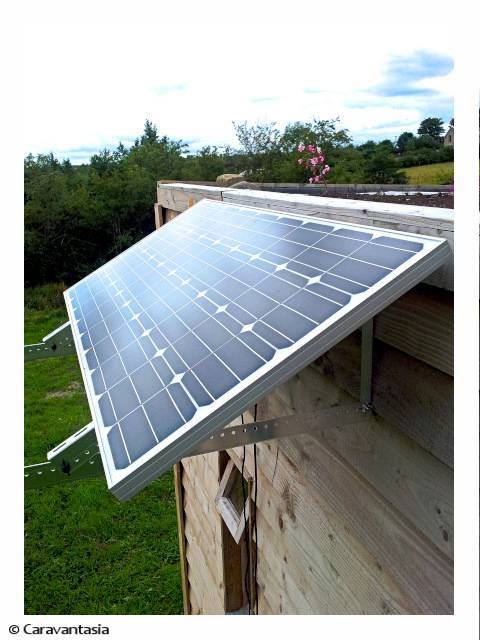 Solar power for the Green House