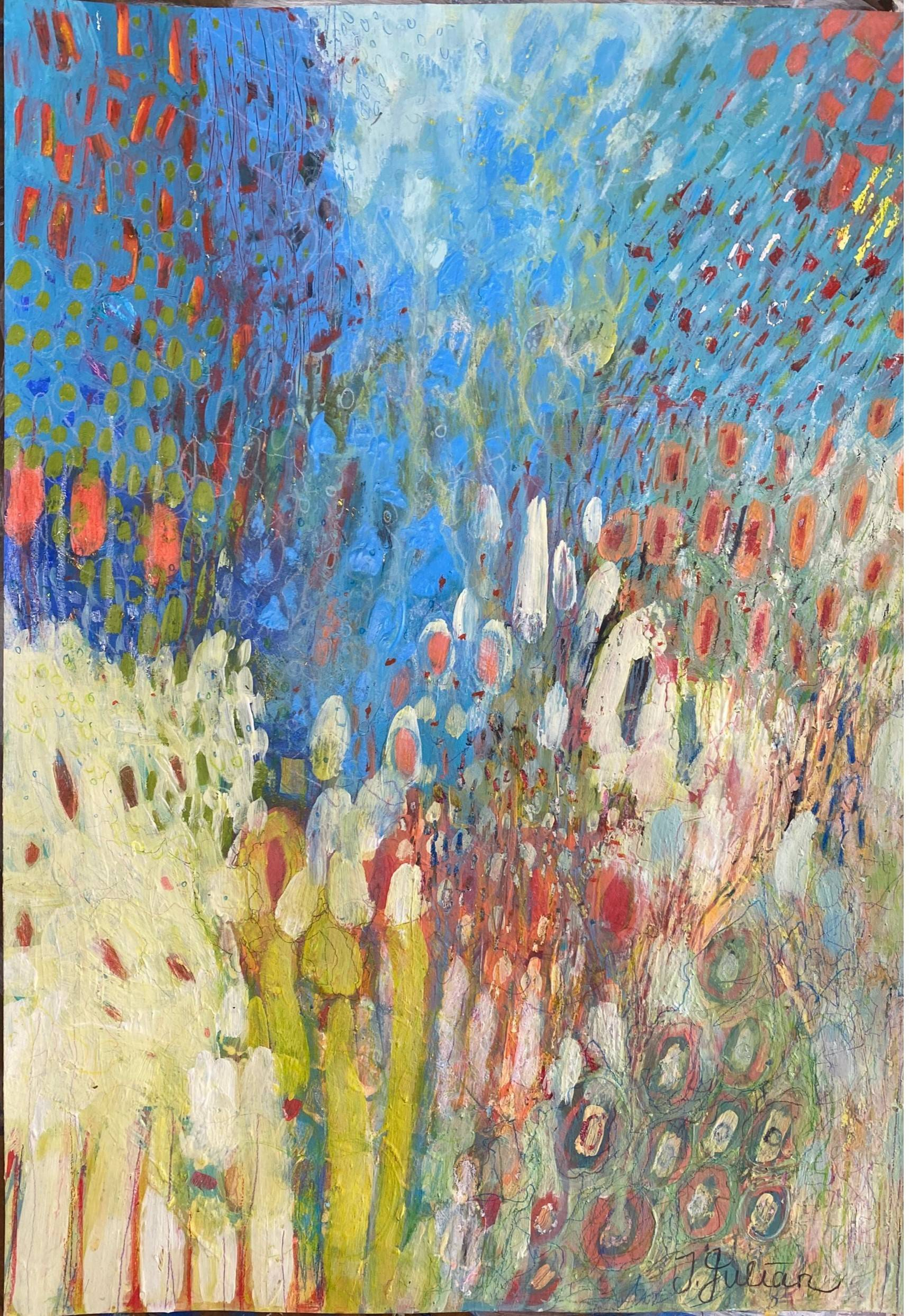 Movement in Blue SOLD