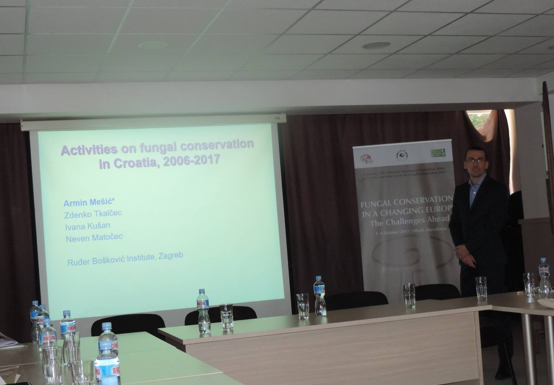 Armin Mesic on fungal conservation efforts in Croatia