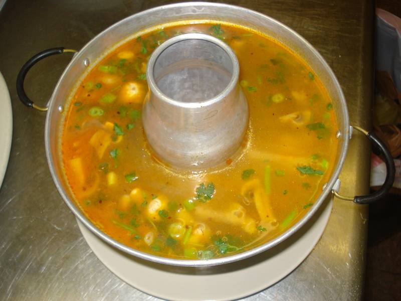 Tom Yum Soup Hot Pot
