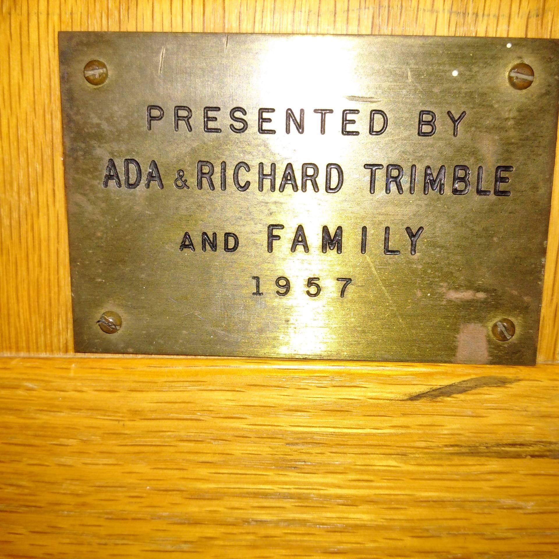 Ada and Richard Trimble 1957