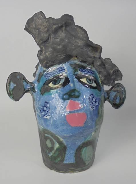 Mary Jones Ceramics.  Forget me not.