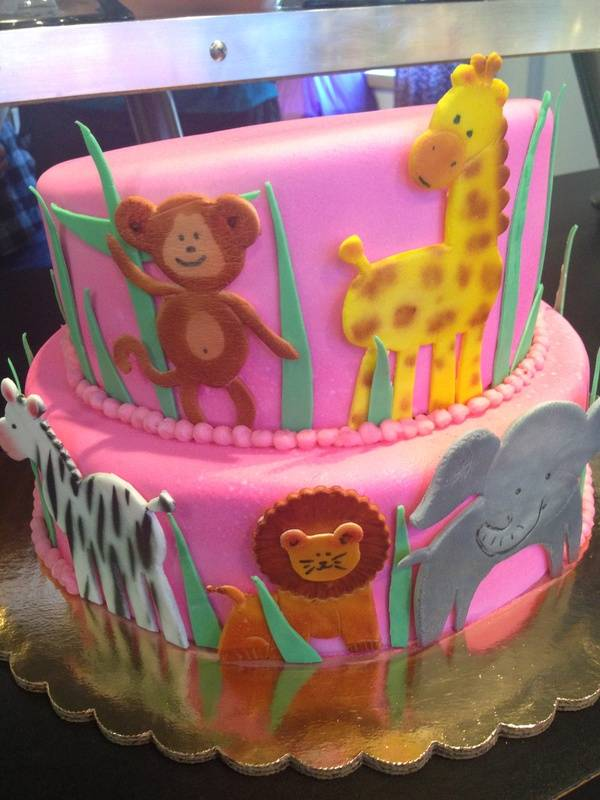 Baby Animal Cake