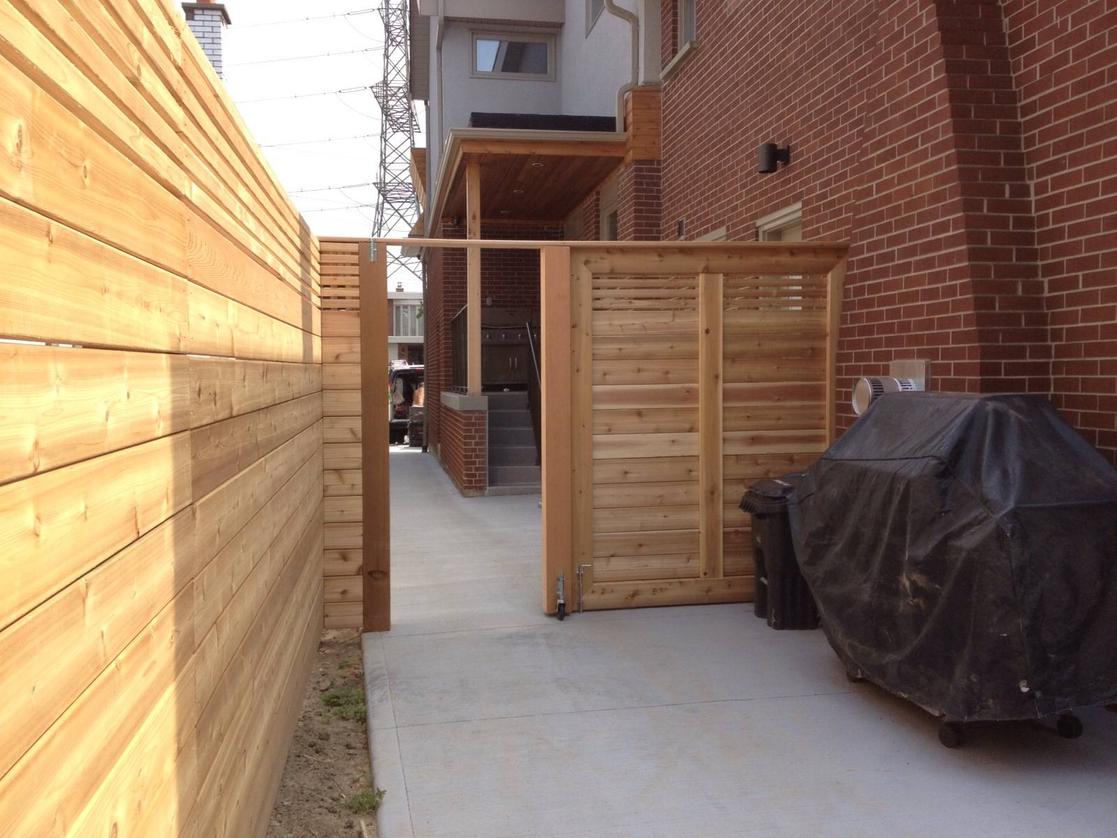 Cedar Fence & Gate
