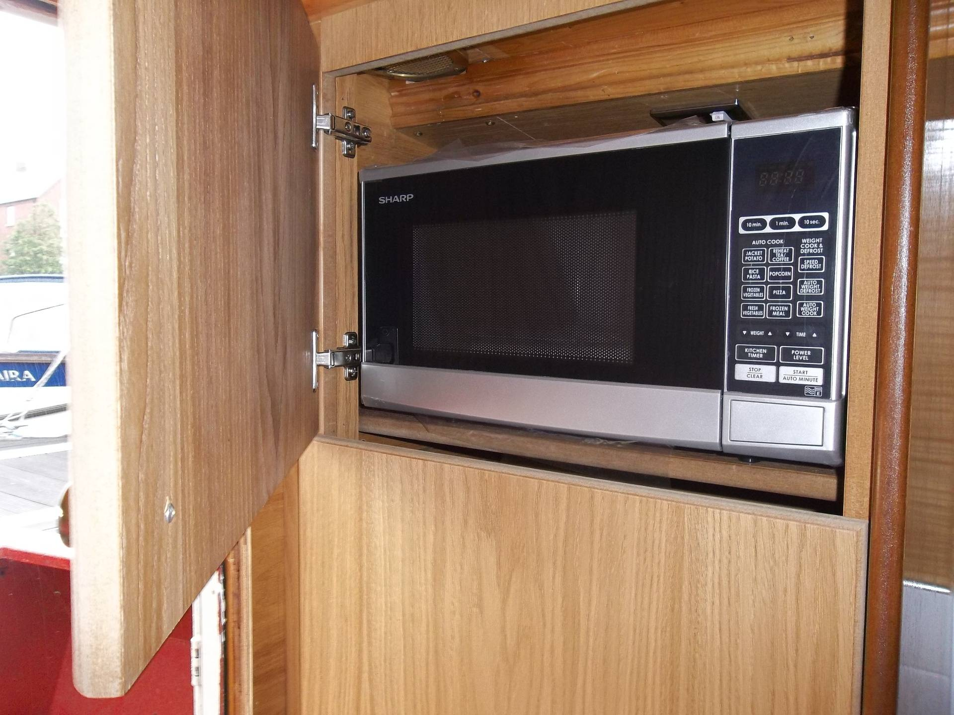 Built in Microwave