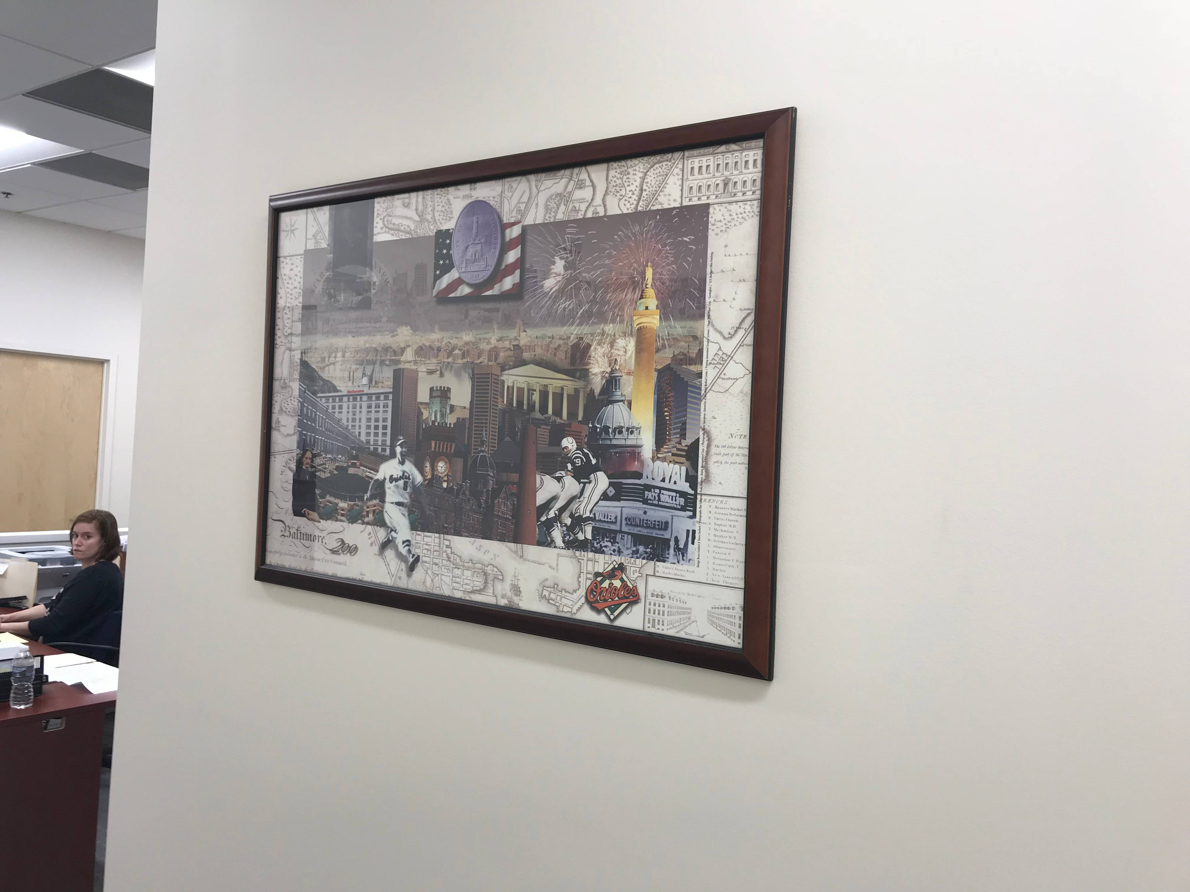 Picture hanging installation in boyds MD