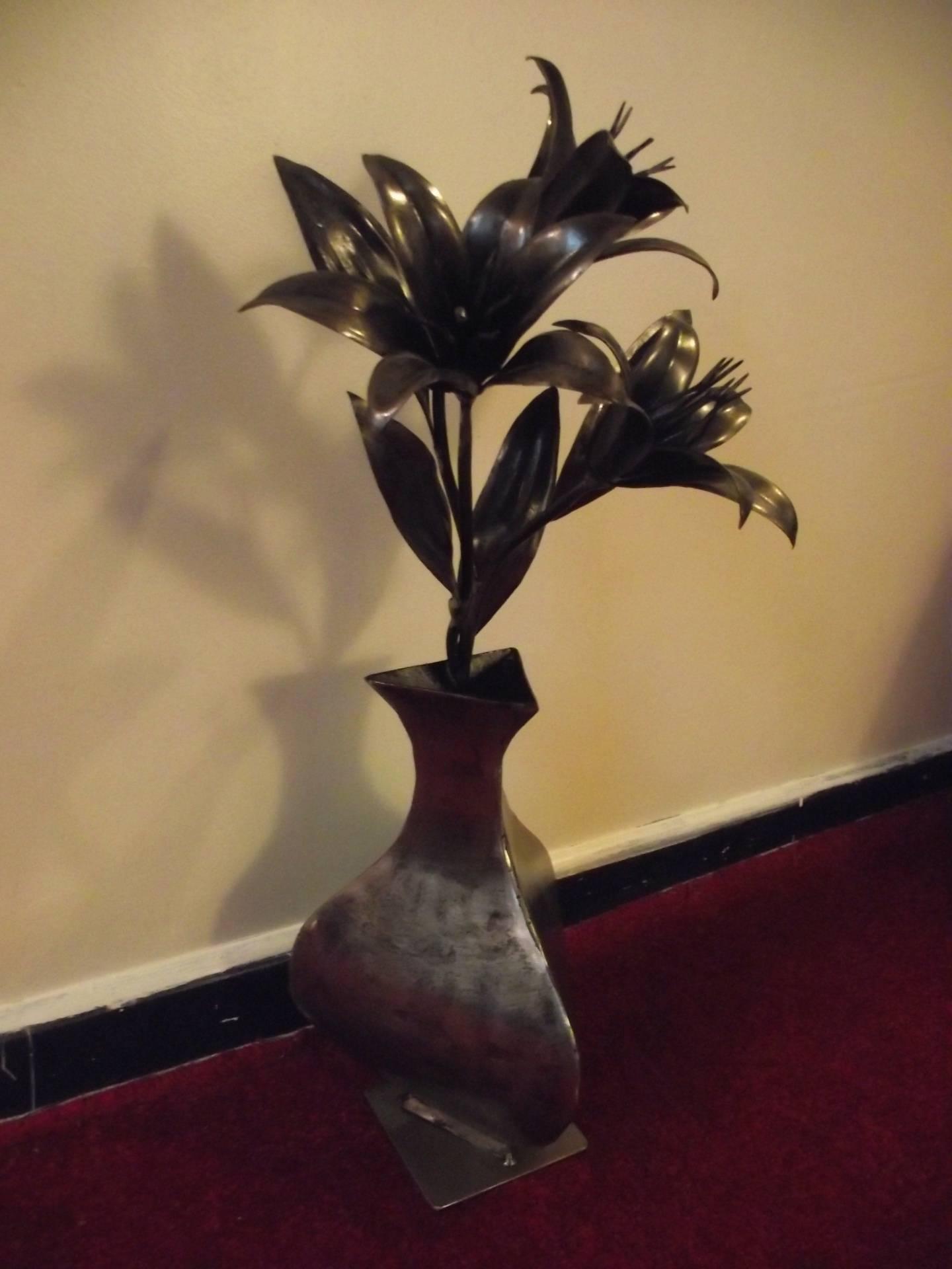 Lilies in Vase