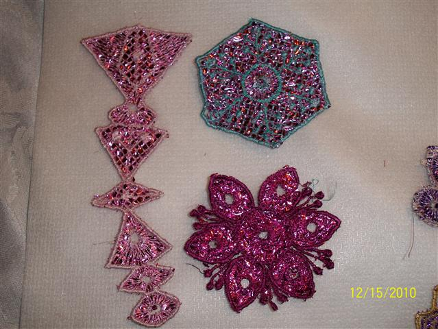 Sherries Mylar Christmas Ornaments