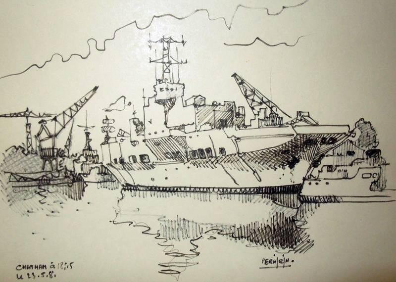 Chatham (Aout 1981) 35 x 27 cm