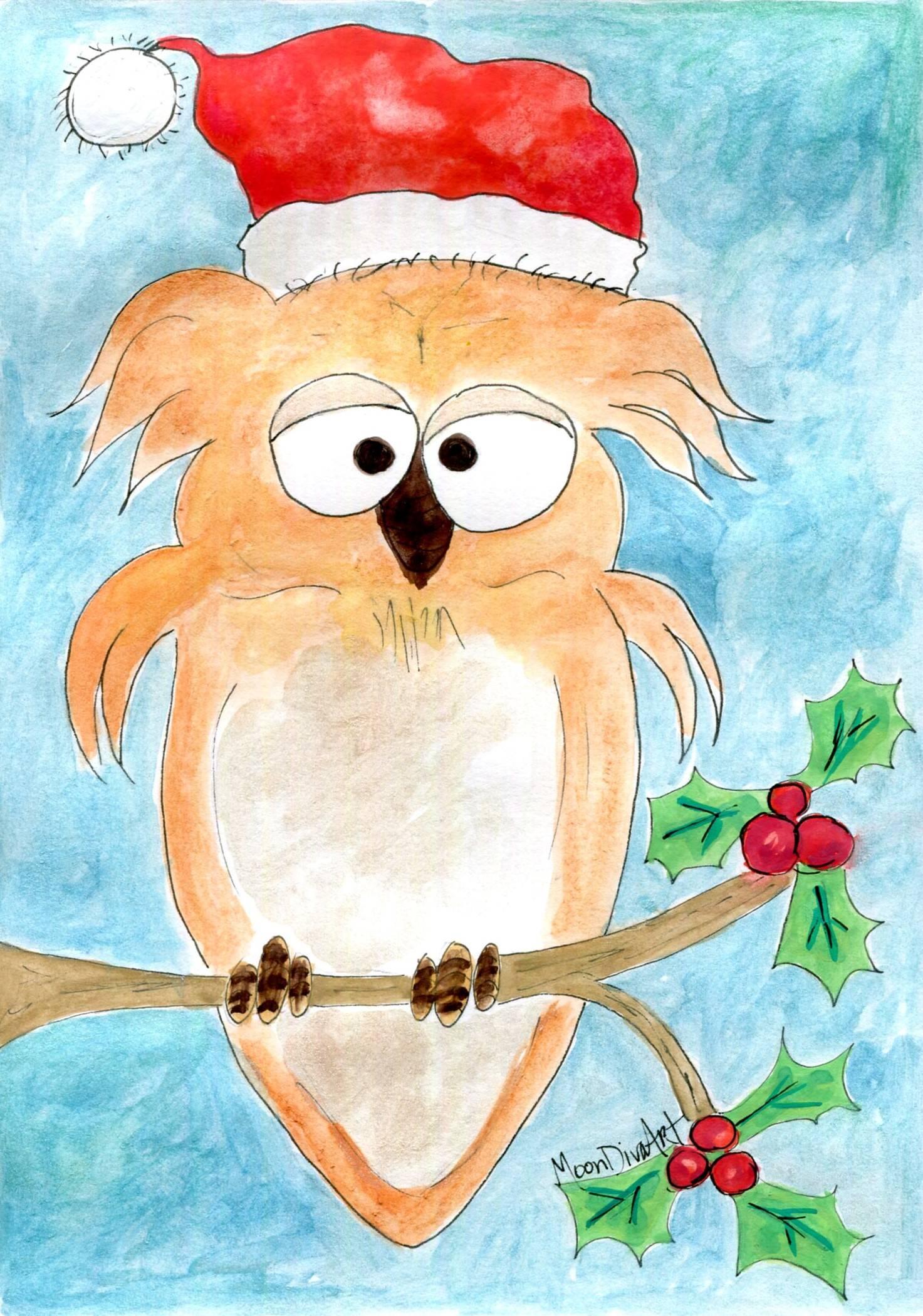 Owl Be Wishing You A Merry Christmas